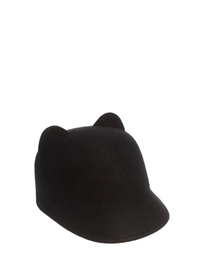 ASOS | ASOS Felt Ears Cap at ASOS