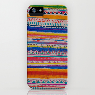 TRIBAL CRAYON / iPhone & iPod Case by Vasare Nar | Society6