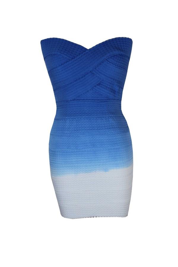 party dress dress blue dress bandage dress
