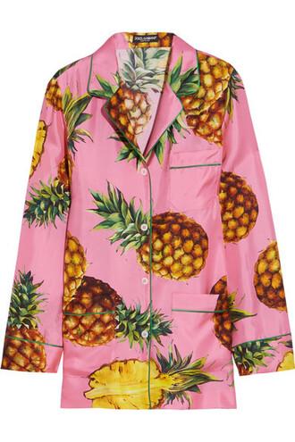 shirt pastel silk pink pastel pink top