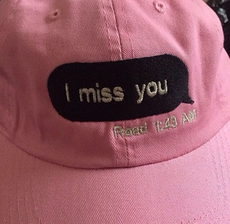 hat tumblr cap cute pink