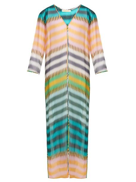Diane Von Furstenberg maxi silk top