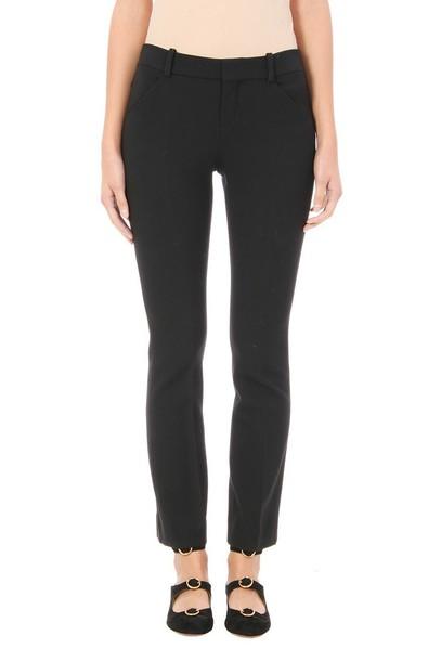 Chloe black wool pants