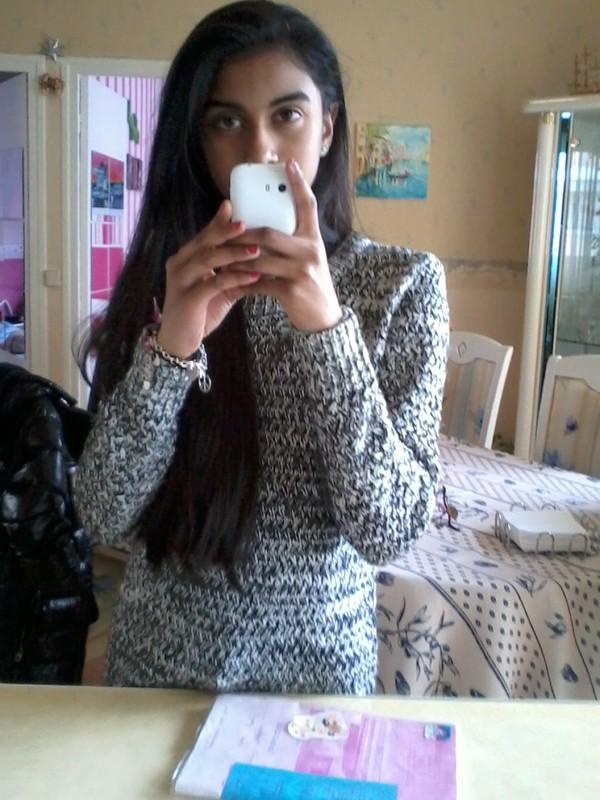 sweater gris & blanc & noir 19?99 pimkie vernis 1?