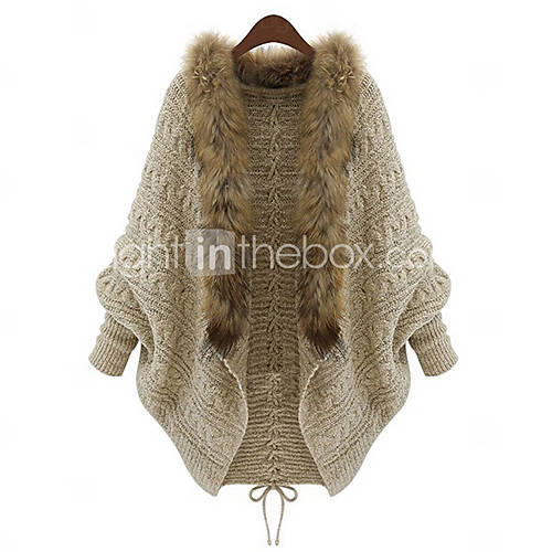 Women's Fashion Batwing Cardigan - USD $ 45.59