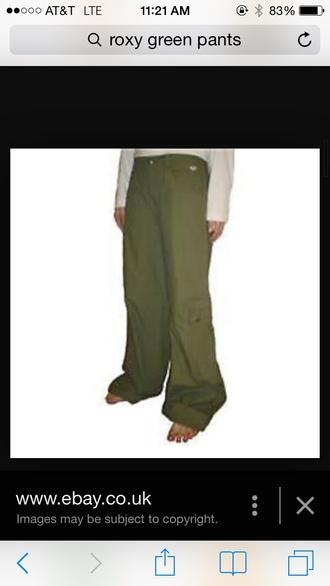 pants khaki pants roxy