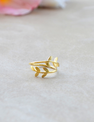 jewels gold gold leaf ring leaf ring gold rings gold ring leaf ring