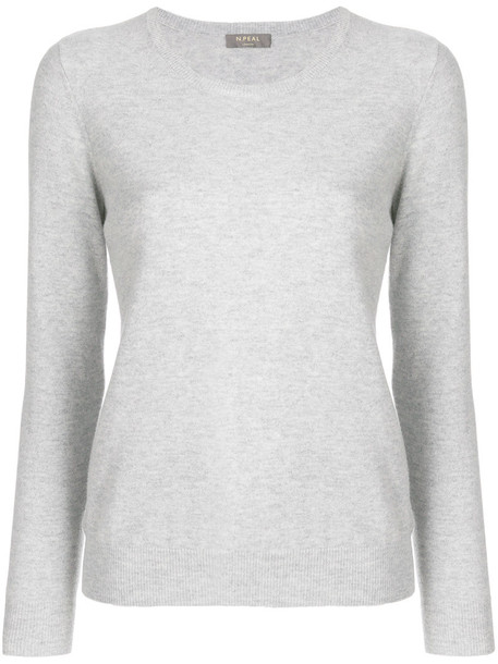 N.Peal sweater women grey
