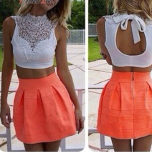 top crop tops crop white crop tops lace crop top lace top summer top spring outfits skirt