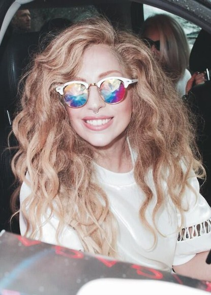 lady gaga glasses sunglasses colorful