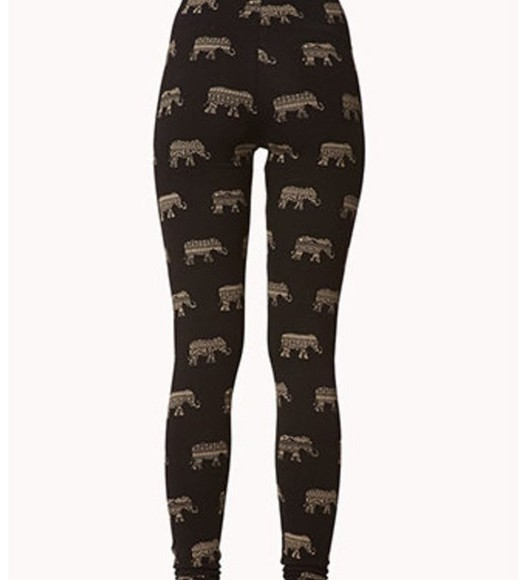 pants aztec leggings tribal pattern printed leggings elephant hipster