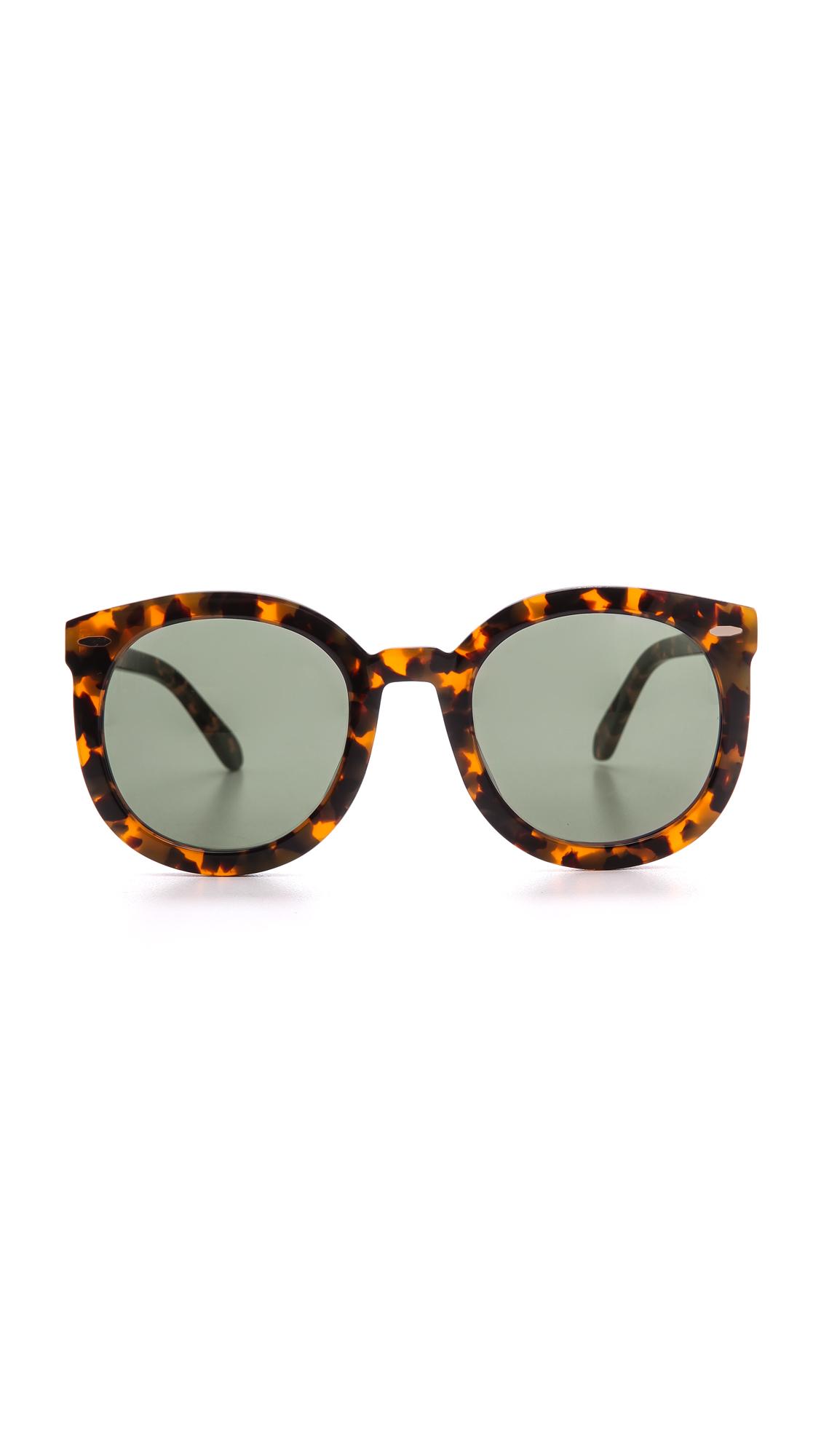 Karen Walker Special Fit Super Duper Strength Sunglasses | SHOPBOP