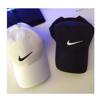 hat cap nike black white tumblr fashion australia