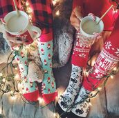 socks,holiday season,tumblr,christmas,pajamas,cute socks,nightwear,cats,christmas pajamas