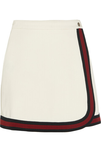 skirt mini skirt mini white