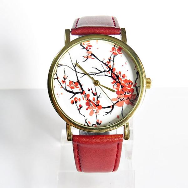 jewels cherry blossom freeforme watch fashion style