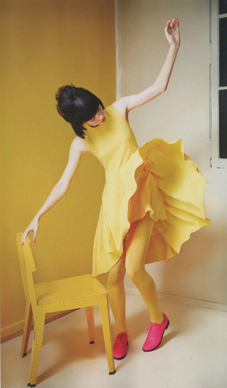 dress yellow yellow dress party classy classic pretty classic dress tumblr clothes of tumblr tumblr dress