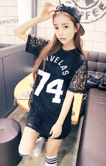 varsity korean ulzzang asian jersey