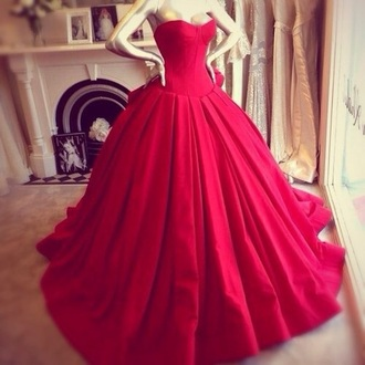 dress red dress hot red ball dress long red dress fashion prom dress prom girl long red prom dress trendy prom beauty girly dress