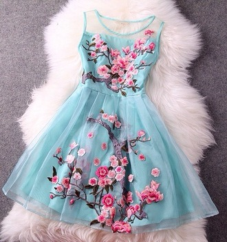 dress babydoll dress baby blue dress roses pink and blue romantic dress cute dress couture dress haute couture too expensive coktail evening dress prom dress
