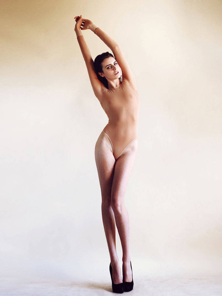 tights nude bodysuit