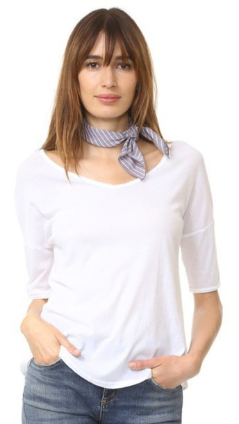 DONNI CHARM scarf grey