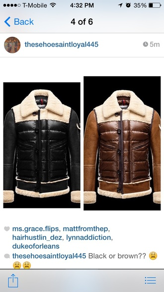 coat fashion designers mens jacket menswear bomber jacket leather jacket fur coat