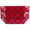 Bao bao issey miyake - geometric purse - women - polyester/pvc - one size, red, polyester/pvc