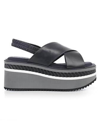 sandals gold black grey shoes