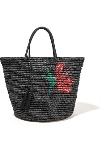maxi black bag