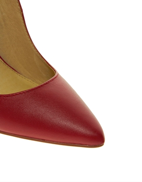 ALDO | ALDO Frited Red Court Shoes at ASOS