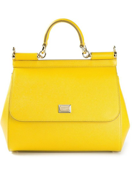 Dolce & Gabbana yellow orange bag