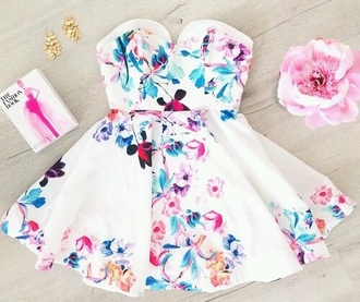 dress white flowers hippy fashion outfit white dress flower shirt hippy dress hat