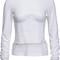 Long sleeve corset t-shirt