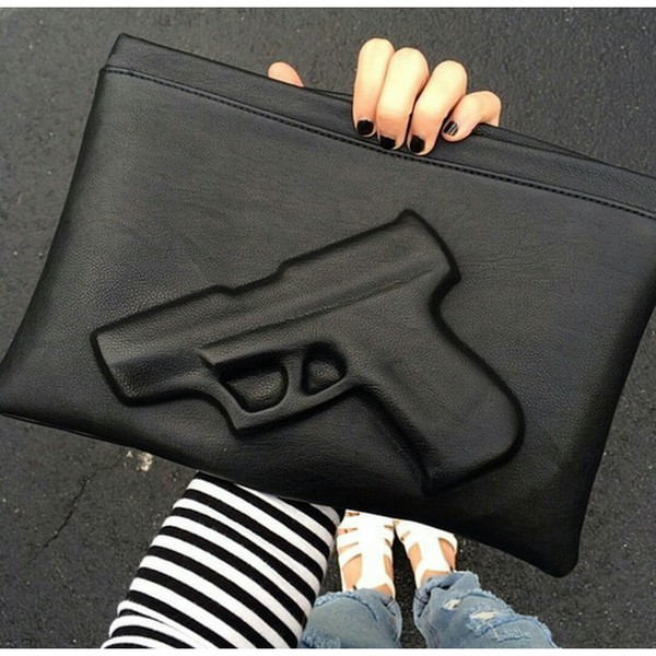 bag gun purse enveloppe