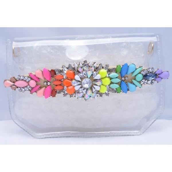 Swarovski crystal bag