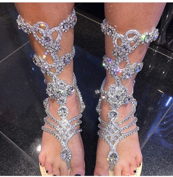 Bling Out Your Wedding Shoes