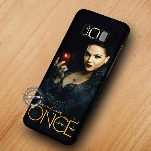 Magic is Coming Evil Queen Once Upon A Time - Samsung Galaxy S8 S7 S6 Note 8 Cases & Covers #SamsungS8