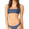Mikoh alapio bikini top - drop off blue