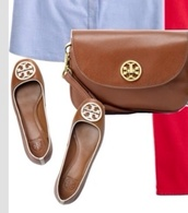 shoes,brown white flats spring shoe shoes tory burch