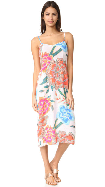 18b1383d7d10 Mara Hoffman Mara Hoffman Crinkle Crepe Slip Dress - Arcadia Coral