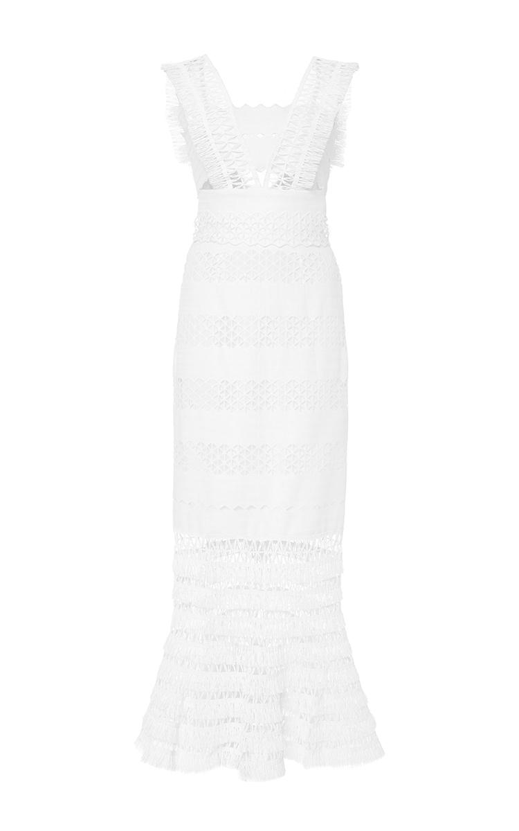 48ce1c8d83230 Mechanical Macrame Gown by Jonathan Simkhai   Moda Operandi
