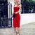Midi Bandage Dress Red