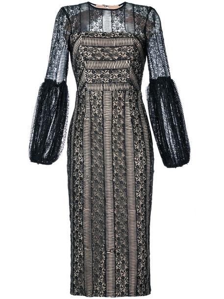 Rebecca Vallance dress women lace black