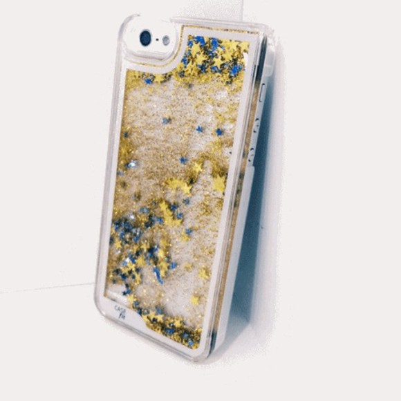 iphone case phone case dripping glitter