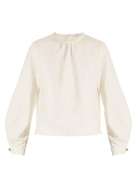 Tibi top cotton