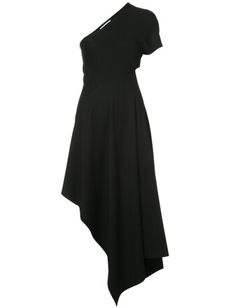 dress women spandex black silk