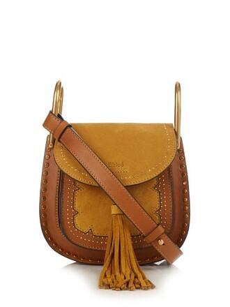cross mini bag leather tan