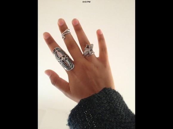 jewels ring midi rings