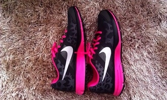 shoes nike shoes with leopard print